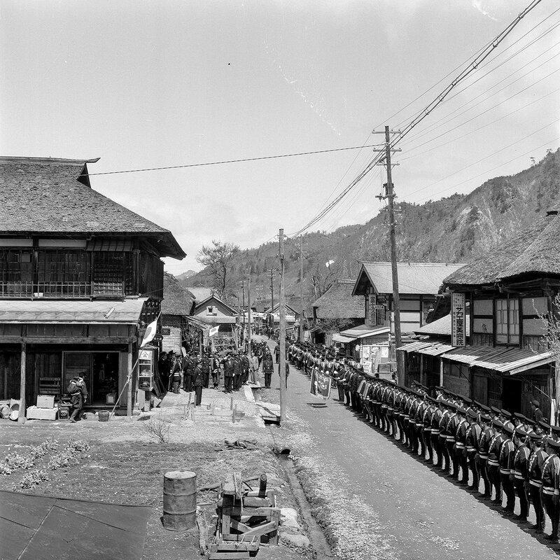Japanese Village Ceremony 1950s