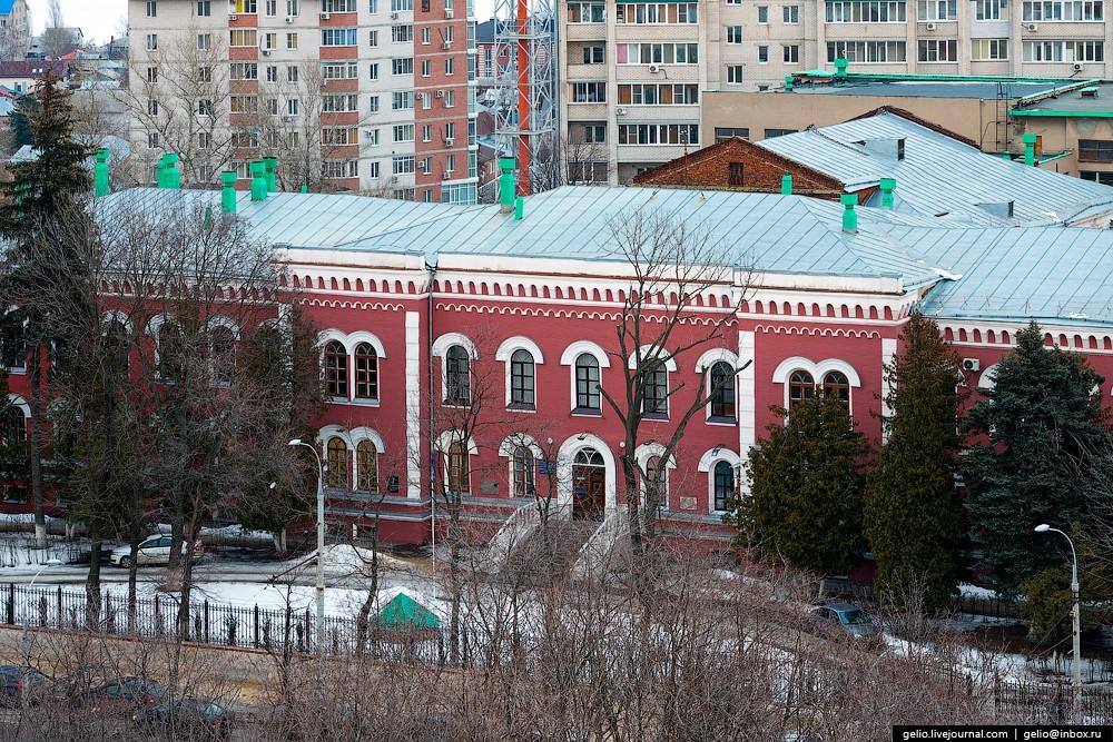 Корпус ВГУИТ (Воронежский государственный университет инженерных технологий). Здание было построено