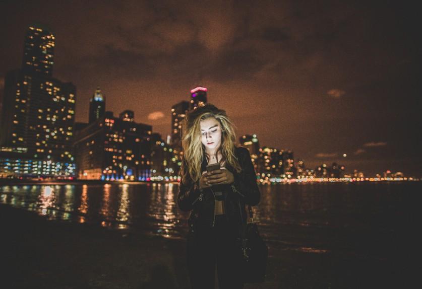 Поздней ночью. Автор фото: Джон Тренд