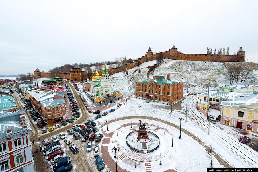 Зимний Нижний Новгород (17 фото)