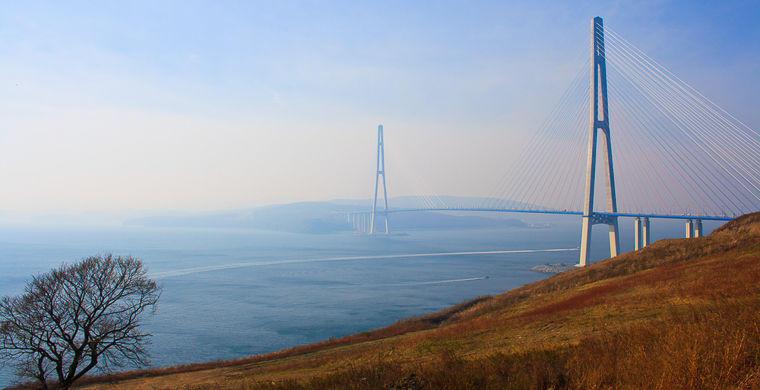 5. Русский мост, Владивосток Этот амбициозный российский проект был построен в 2012 году в рамках по