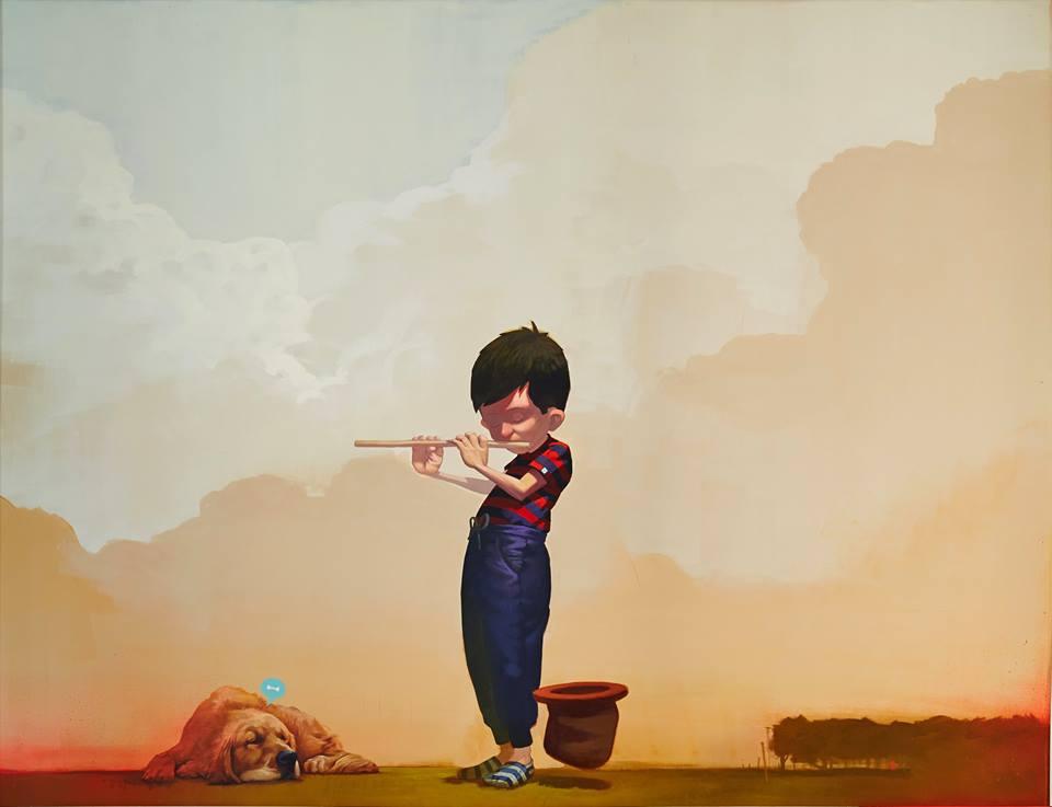 Bezt Коллега по цеху Bezt в индивидуальном творчестве больше склонен к сюрреализму. Он пишет картины