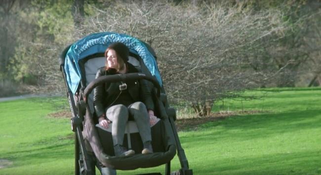 Анедавно вЧикаго был организован тест-драйв pluz-size коляски. Икаждый желающий смог нетолько пр