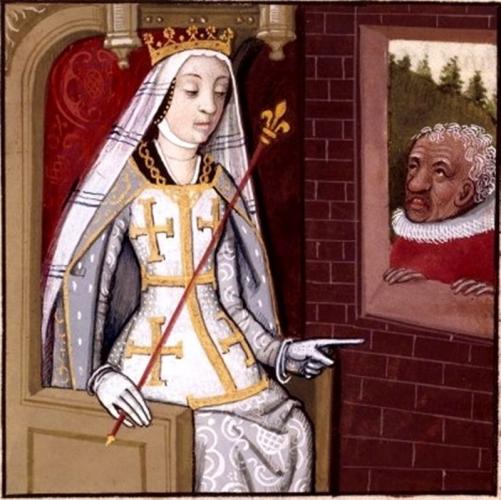 Стоит ли говорить, что она четыре раза выходила замуж – лишь Людовик Тарентский (второй муж Джов