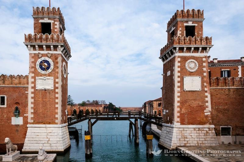 Что посмотреть в Венеции:  арсенал