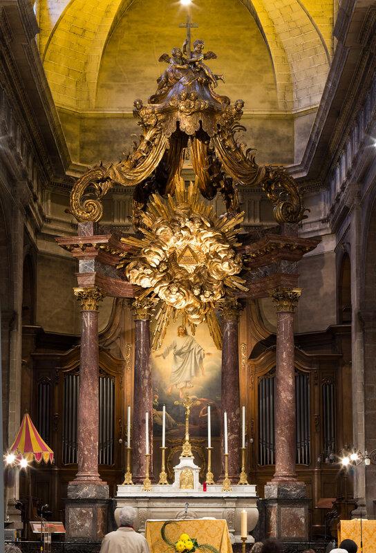 Maître-autel, Rennes, Ille-et-Vilaine, France