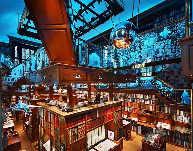 Библиотека Волкер, Миннесота, США.