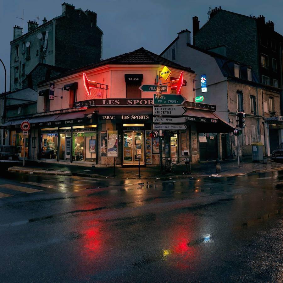 Les Sports. Avenue de Verdun, Ivry-sur-Seine.