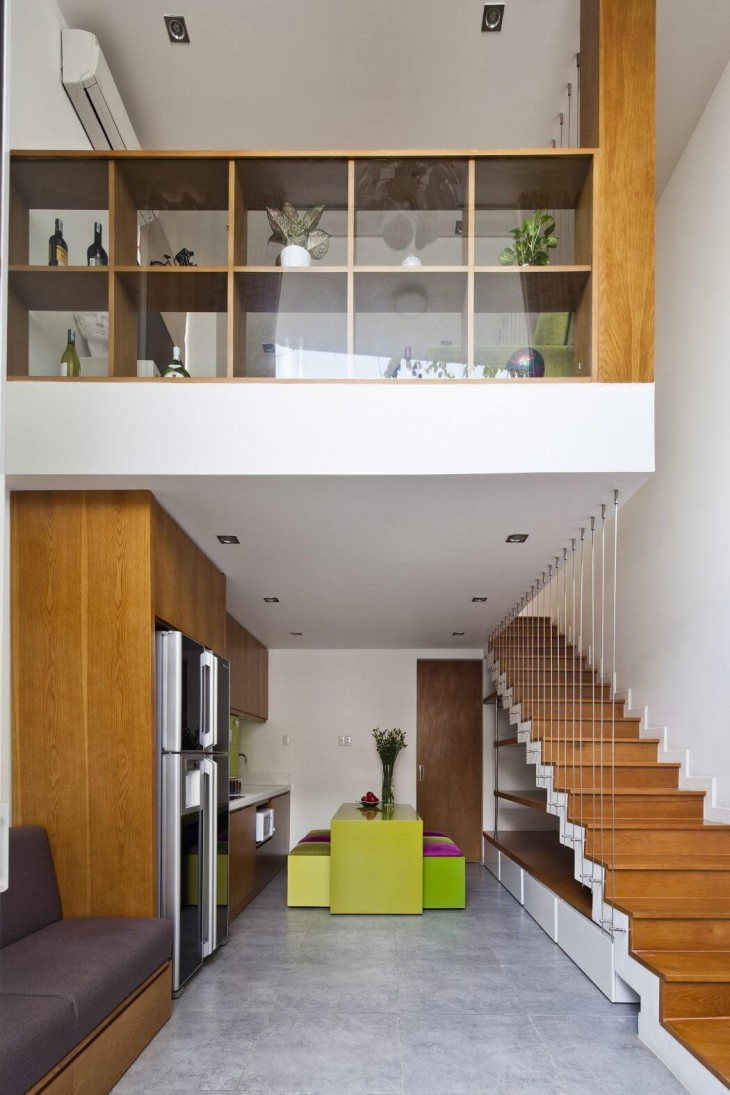 Micro Town House by MM ++ Architects