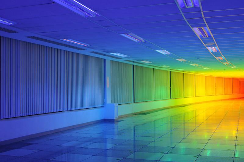 Artist Liz West Captures a Rainbow Inside the Bristol Biennial