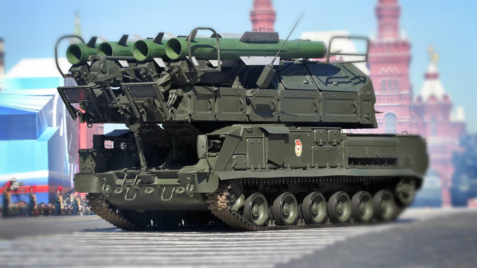 зенитно-ракетный комплекс БУК -2м