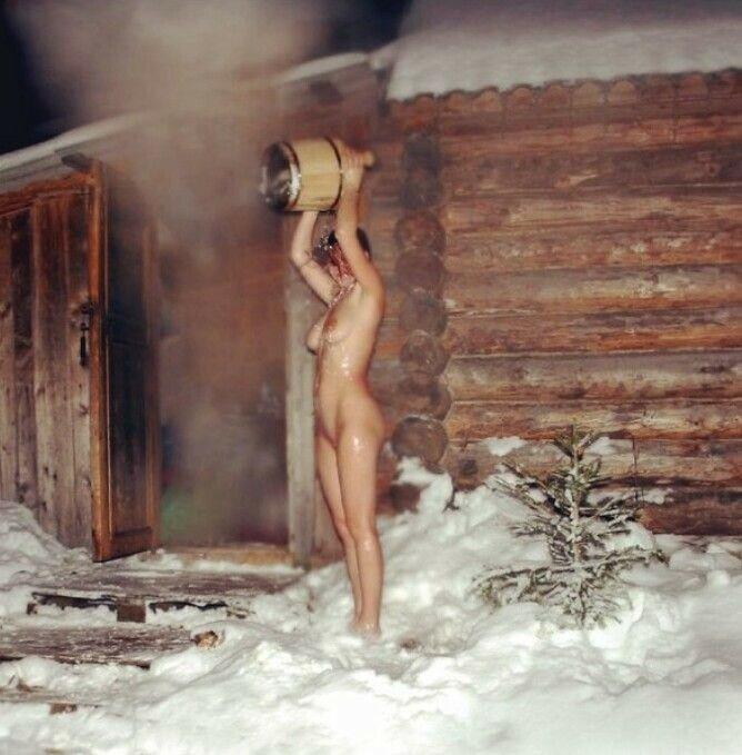 баня купание русских женщин видео - 14