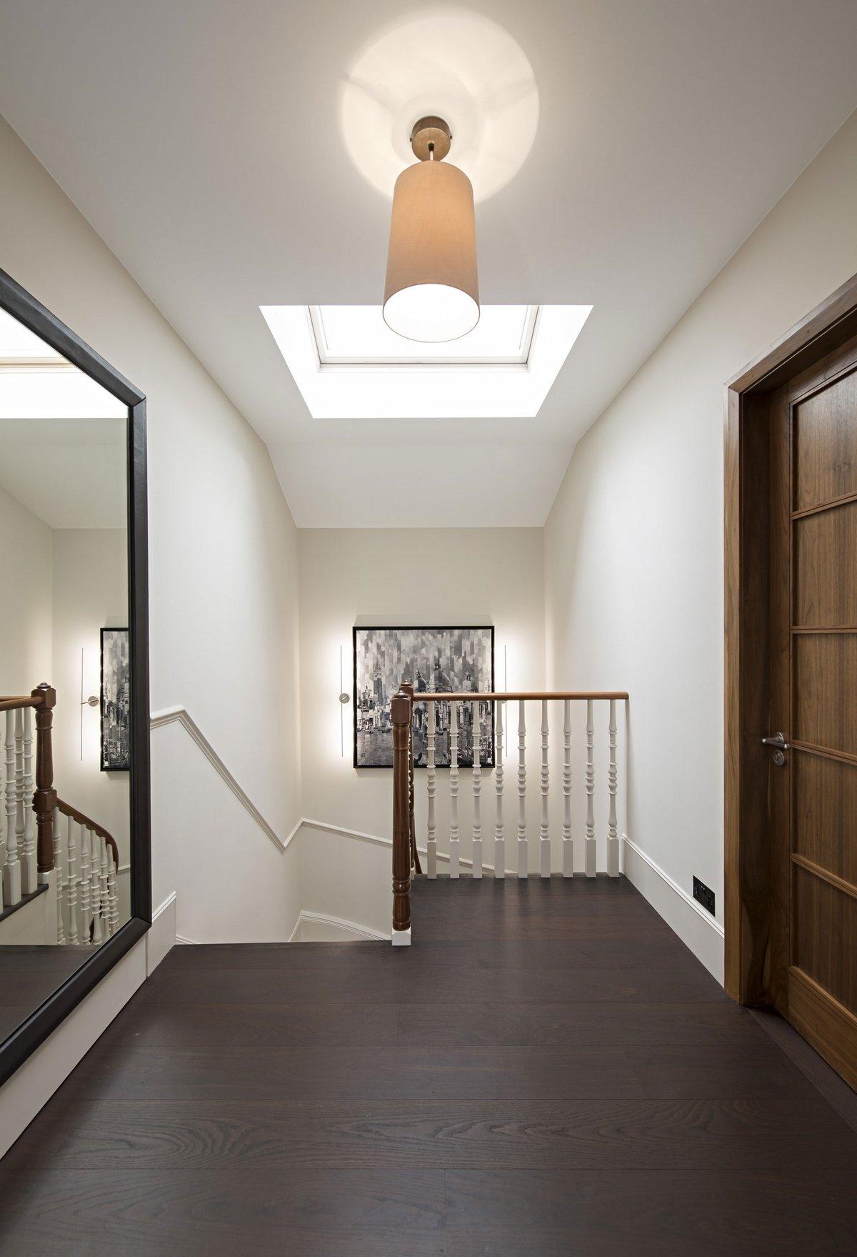 SHH Architects, St John's Wood Villa, камин в частном доме фото, лестница в частном доме фото, винтовая лестница фото, дизайн спальной комнаты фото