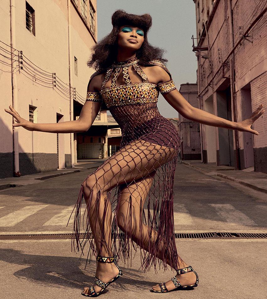 Naomi Campbell by Zee Nunes - Vogue Brasil (2016)
