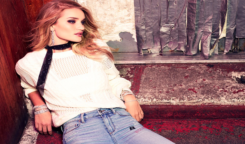 Rosie Huntington-Whiteley - Paige Denim fall-winter 2016 campaign