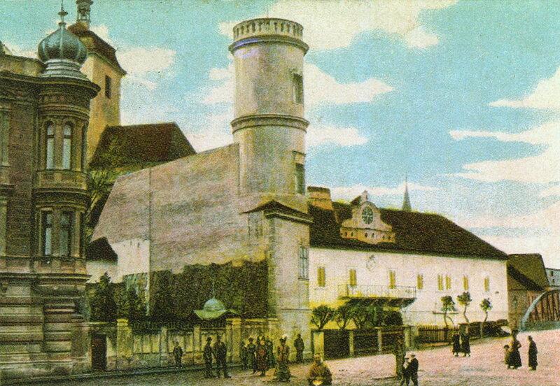 Штракониц (Страконице), 1902 г.
