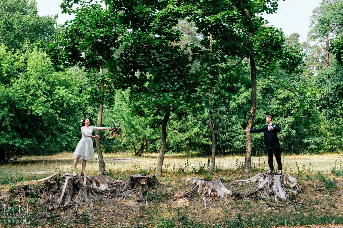 Весільні знимки Катерини та Олексія