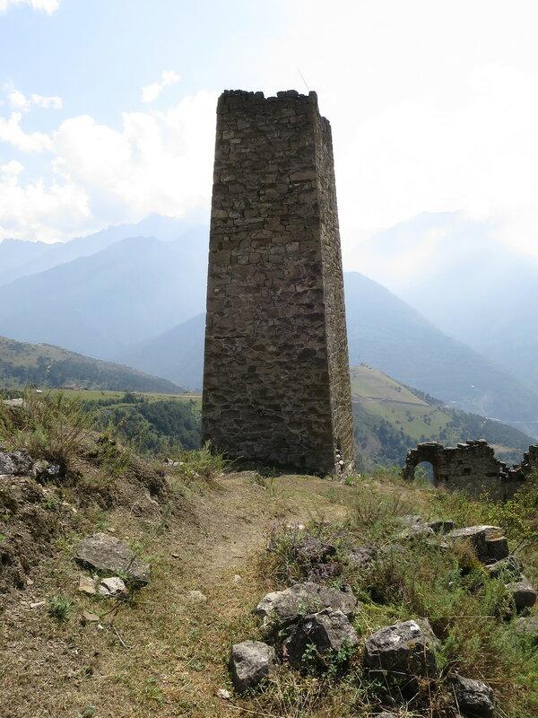 Боевая башня с плоской крышей, Харпе