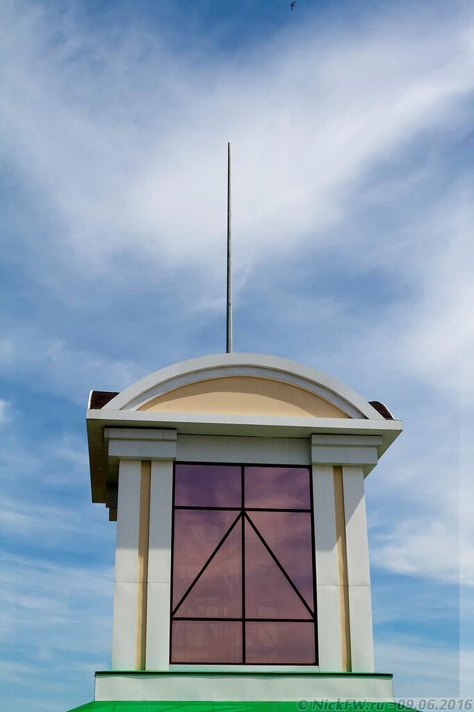 Башня дома 8.1.2 вид с крыши (© NickFW - 09.06.2016)