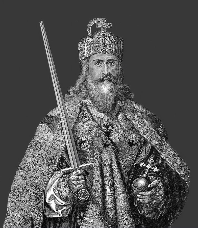 """charlemagne known as charles the great Charlemagne, also known as charles the great, became the undisputed ruler of western europe, """"by the sword and the cross"""" as western europe was deteriorating."""
