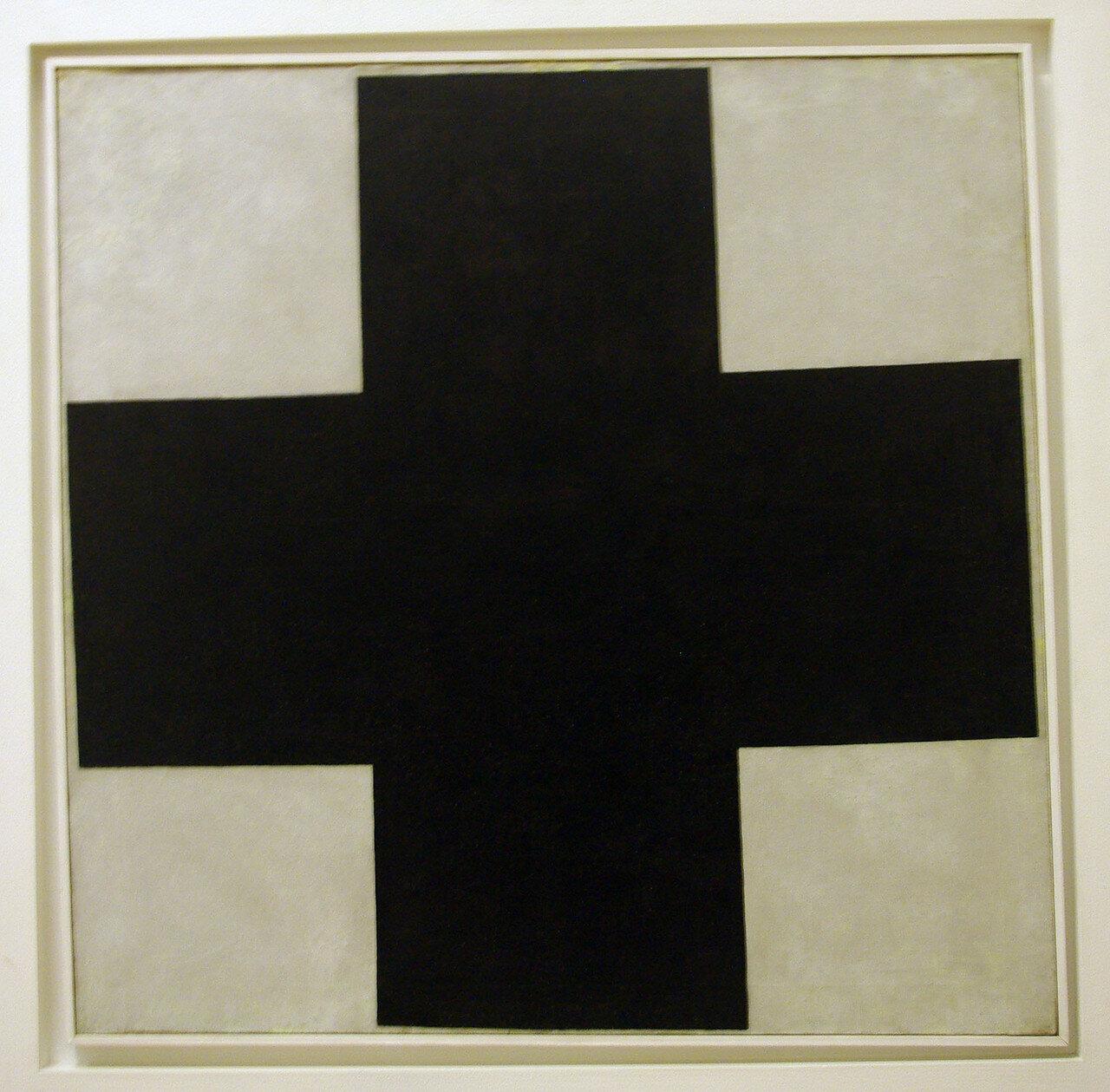1923. Малевич Казимир Северинович. Черный крест