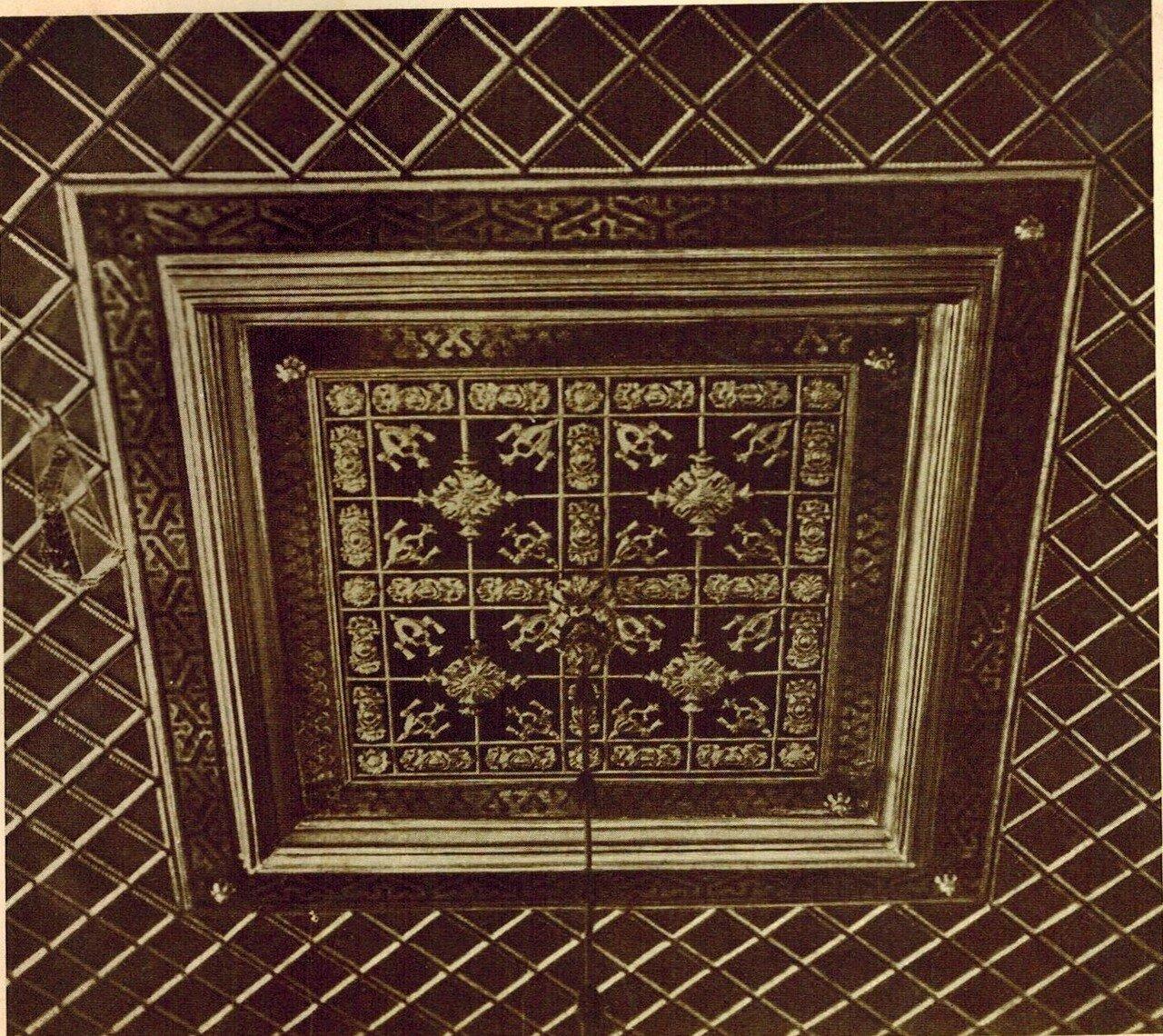 Потолок Золотого кабинета
