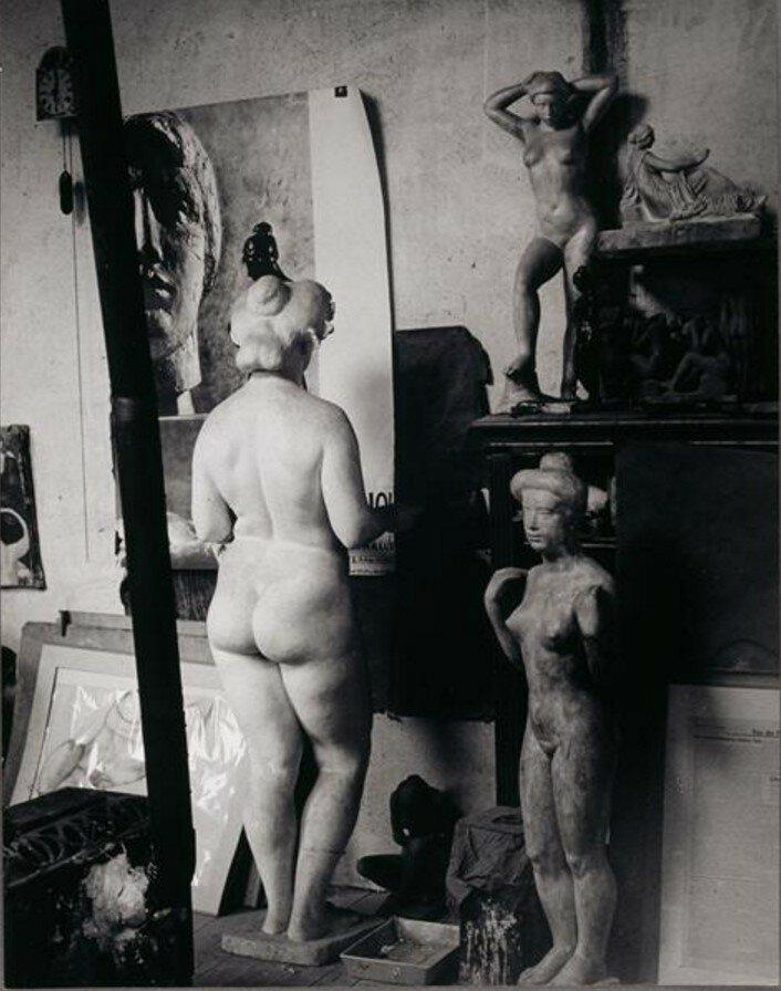 1935. Студия Майоля