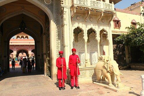 Индия. Джайпур. Городской дворец