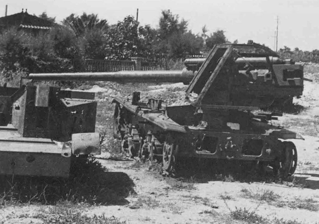 Итальянская 90-мм противотанковая САУ Semovente da 90/53 на СПАМе.