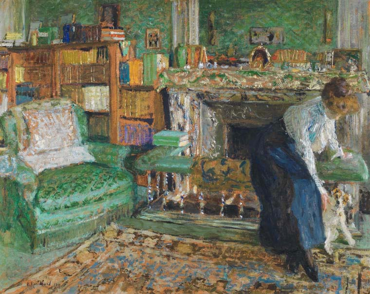 Marguerite Chapin in her Apartment, by Vuillard