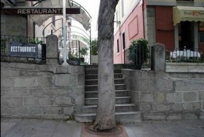 Главное, не спускаться по этой лестнице слишком быстро.