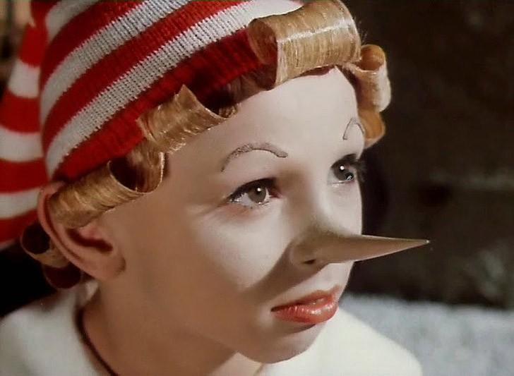 Пиноккио — Буратино. (Все! Тара-тара-там.)