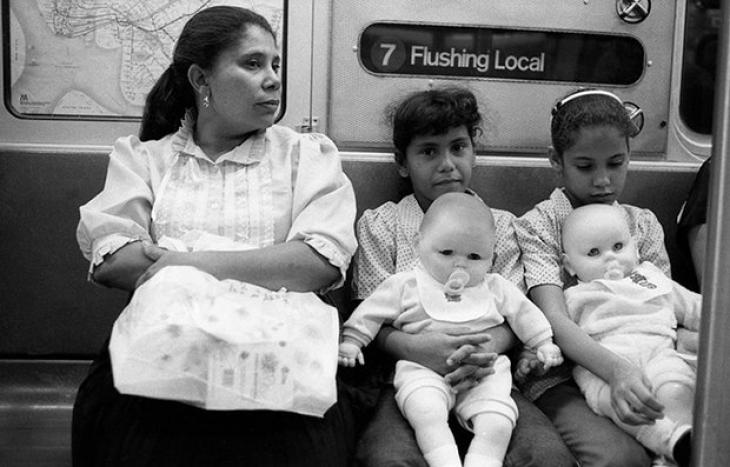 Нью-йоркское метро, 1984.
