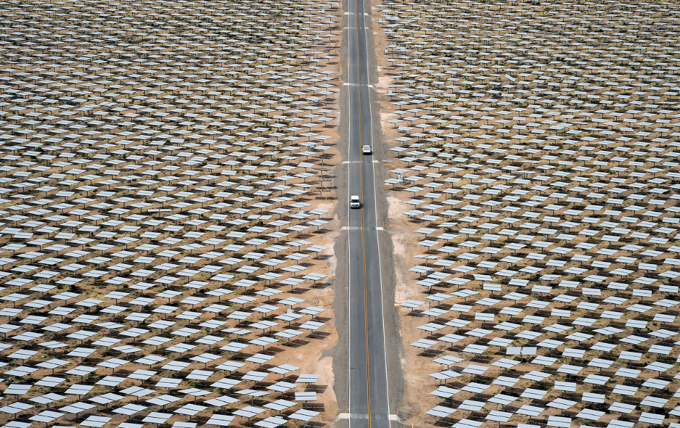 Солнечная электростанция Айванпа, 3 марта 2014. (Фото Ethan Miller | Getty Images):