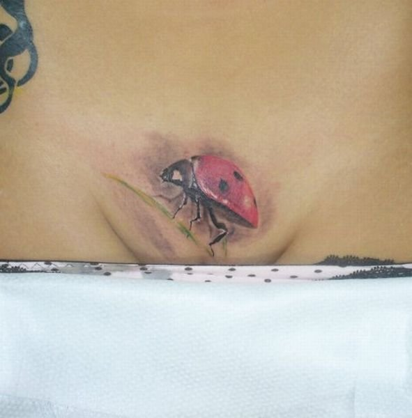 Татуировки на интимных местах