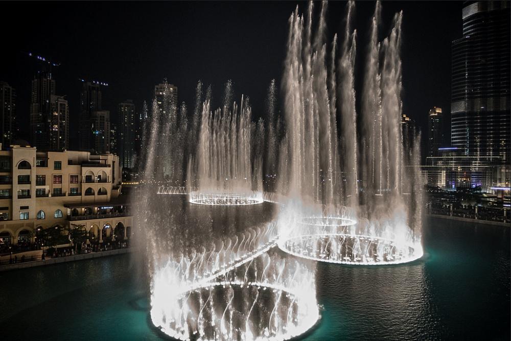 Фонтаны Дубая, ОАЭ