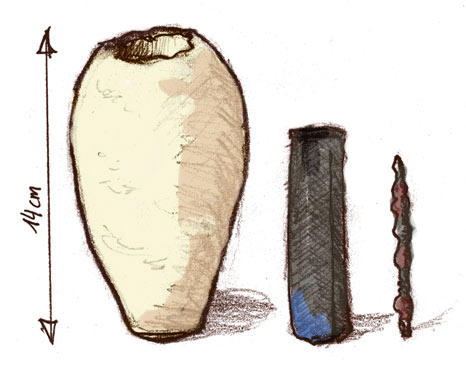 9. Багдадские батарейки (Селевскийские вазы) Этот артефакт заставляет поверить, что люди знали о ток