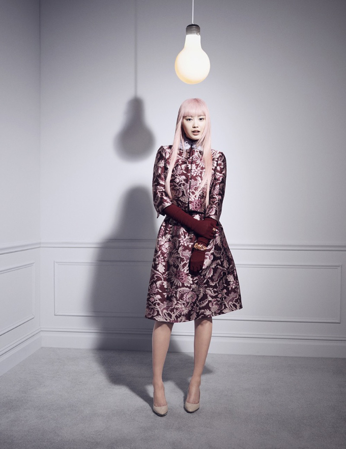 Фернанда Ли для Bergdorf Goodman Magazine (12 фото)
