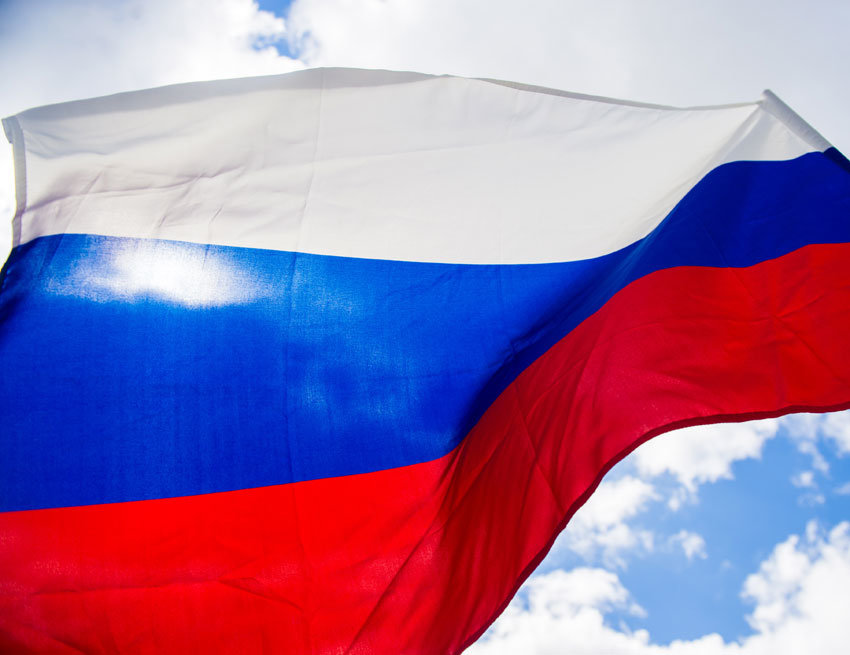 Большой торт коДню русского флага съели ранее времени вЯкутске