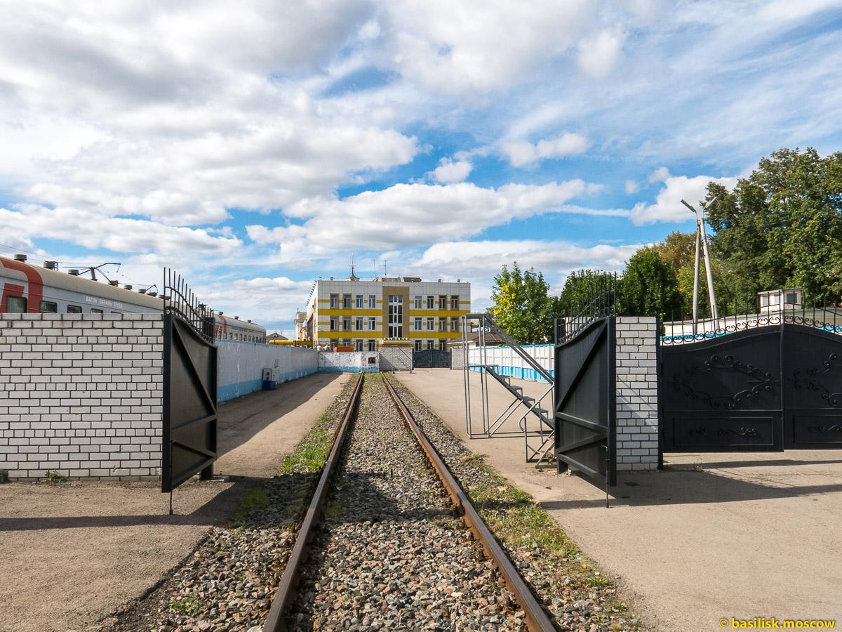 Станция и вокзал Ярославль-Главный. Август 2016