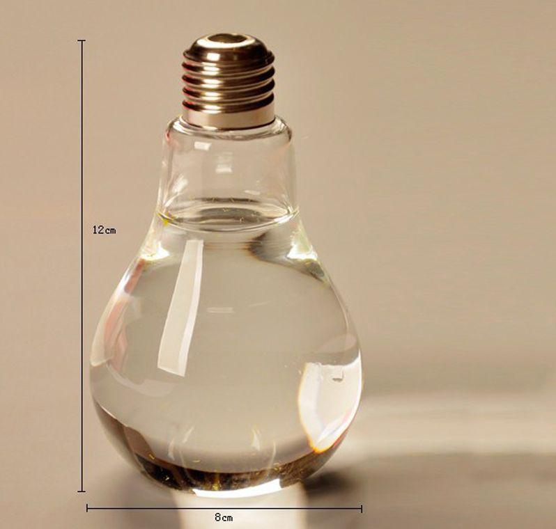 Декоративная ваза лампочка