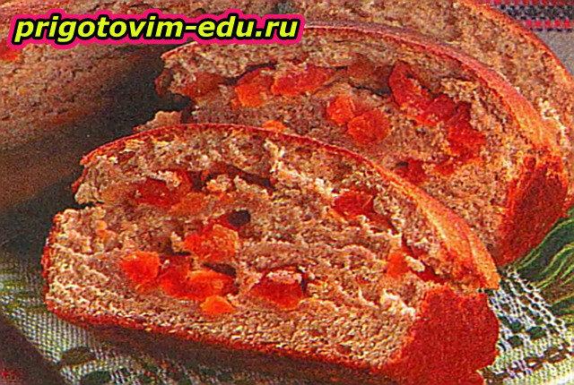 Медовый хлеб с курагой