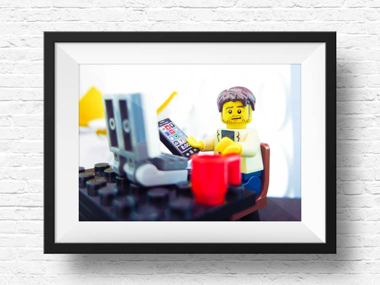 LEGO Portraits - This service proposes to create your portrait with Lego minifigs