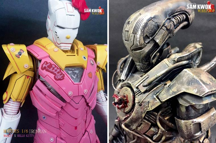 Iron Man VS. Pop Culture – The awesome customized figures by Sam Kwok (24 pics)
