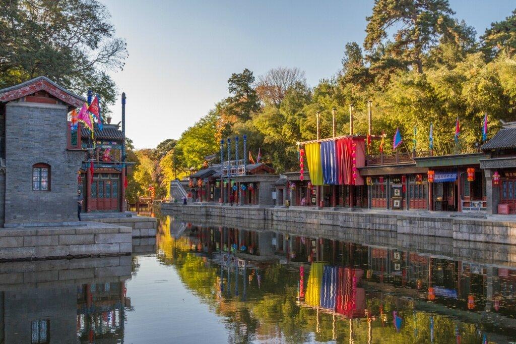 Улица Сучжоу, парк Ихэюань, Летний императоский дворец, Пекин
