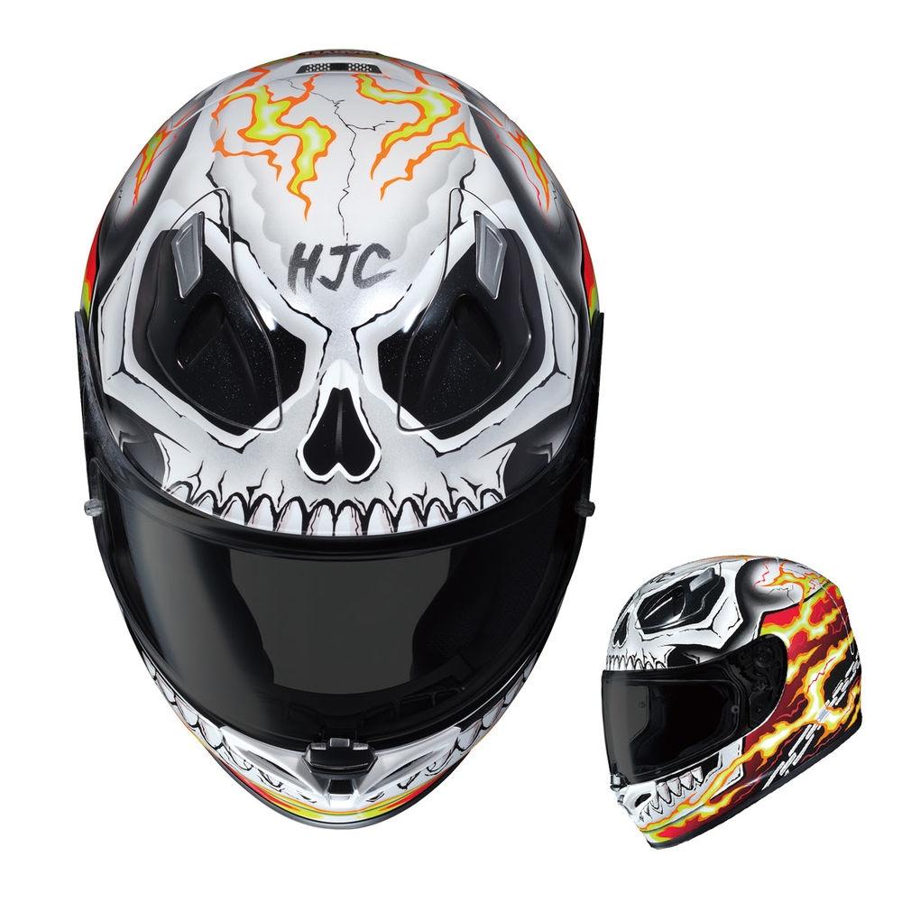 Компания HJC продолжает сотрудничать с Marvel. Шлемы Deadpool и Ghost Rider
