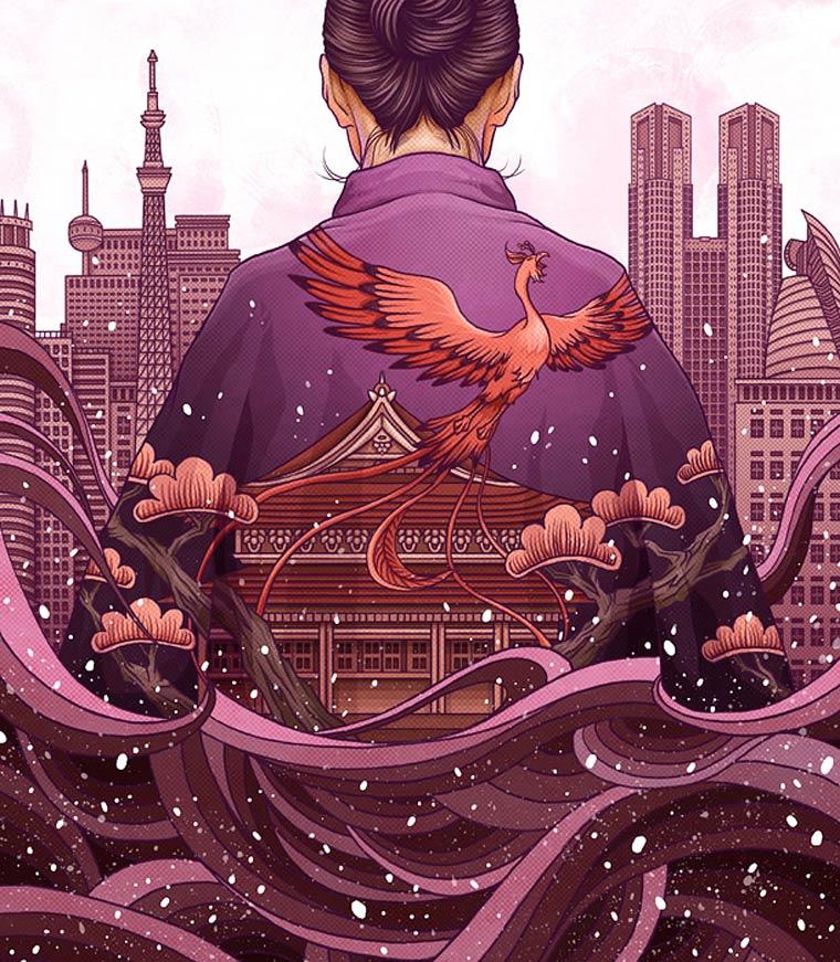 The beautiful illustrations of Yuta Onoda