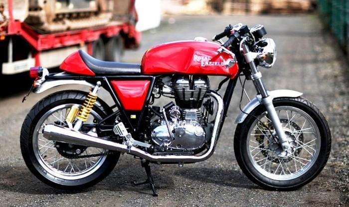 В марте компания Royal Enfield продала рекордное количество мотоциклов