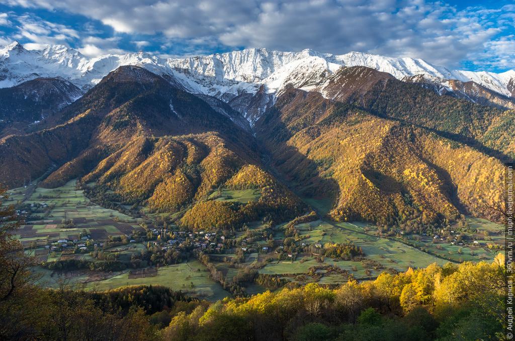 Осень в горах фото