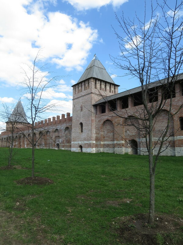 Башня Зимбулка (14) со стороны города